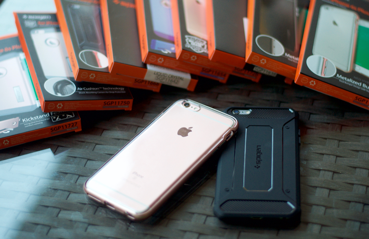 pretty nice e82e3 a824e Here Are the Best Spigen Cases for iPhone 6/6s Plus [REVIEW ...