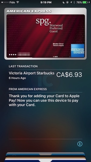 Try Apple Pay in Canada at These American Express Retailers [LIST