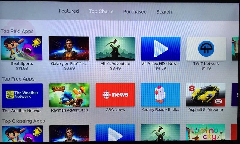 Apple tv top charts canada