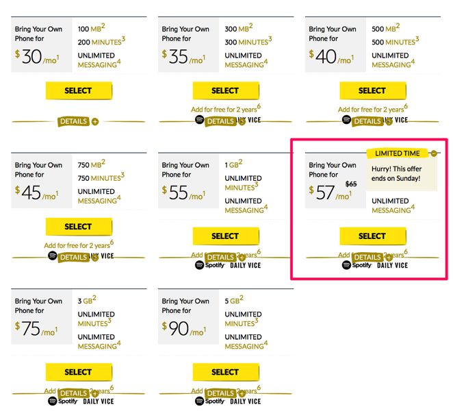 Fido, Virgin Promo: $57/2GB Until Sunday; $34/1GB for Quebec Returns