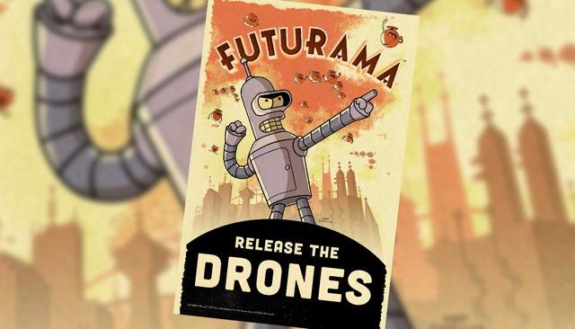 Futurama drones