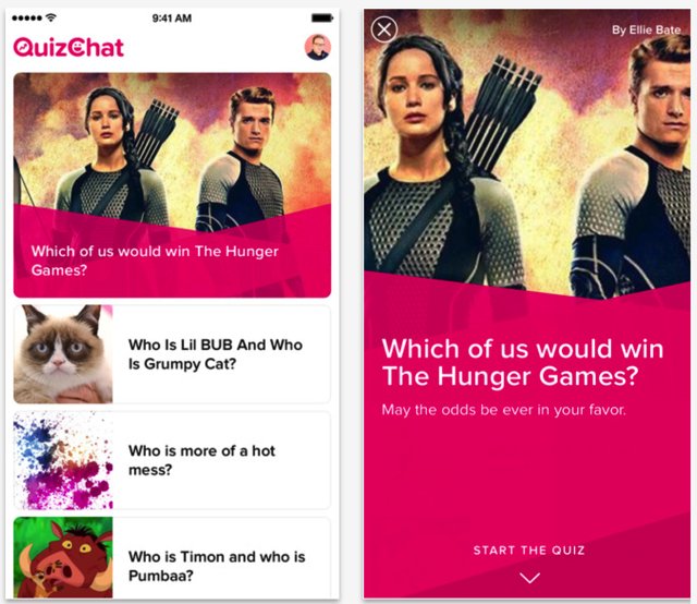 QuizChat Lets You Take BuzzFeed Quizzes with Your Friends