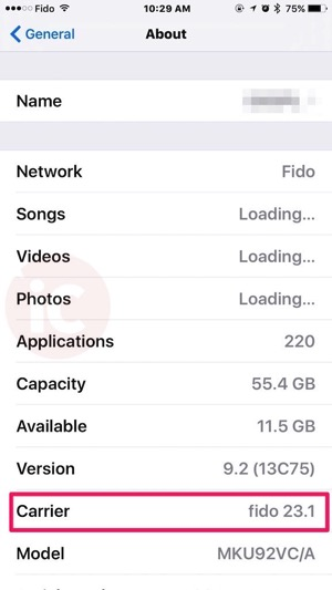 fido 23.1 carrier update