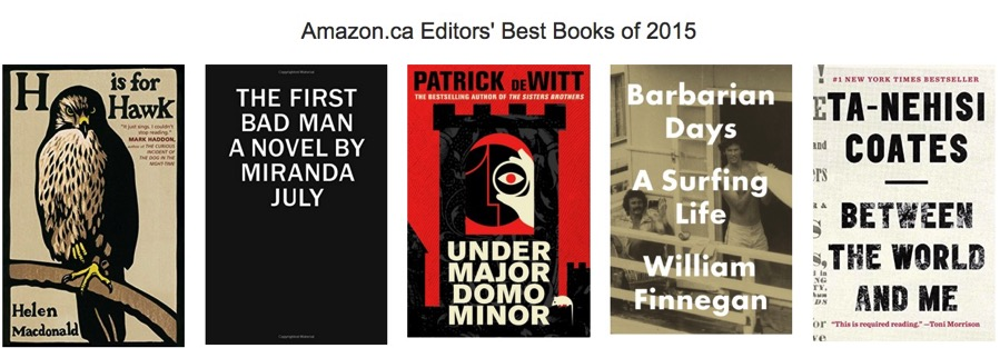 Amazon Canada Reveals the Best-Selling Books of 2015 [LIST