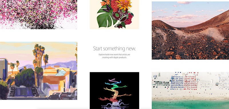 Start Something New Apple 800x382