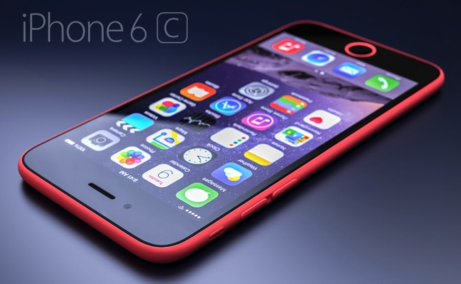 IPhone 6c concept render