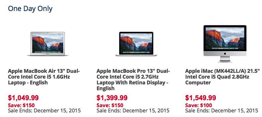 Best Buy Flash Sale 150 Off Macbook Air Retina Macbook Pro