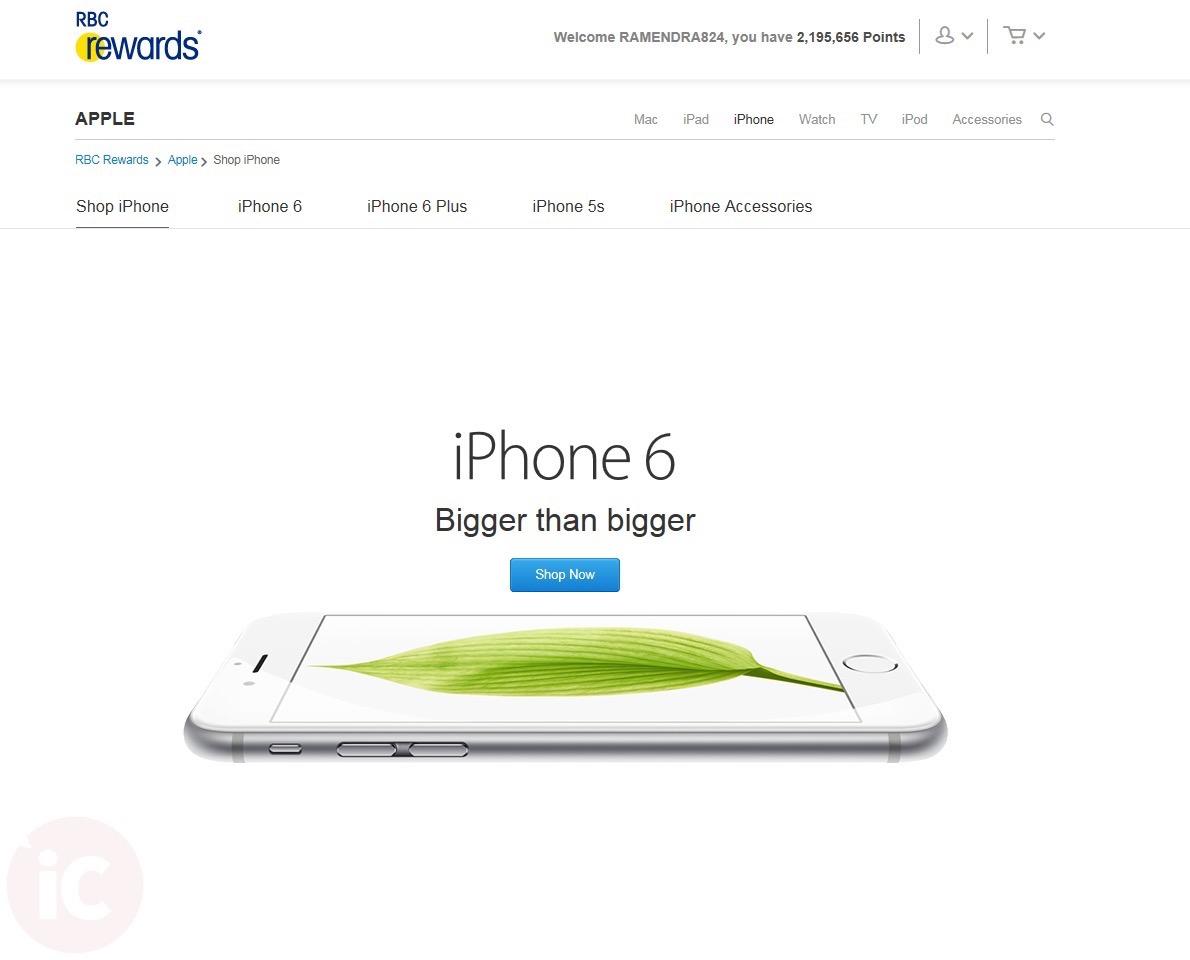 RBC Rewards - Shop iPhone EN