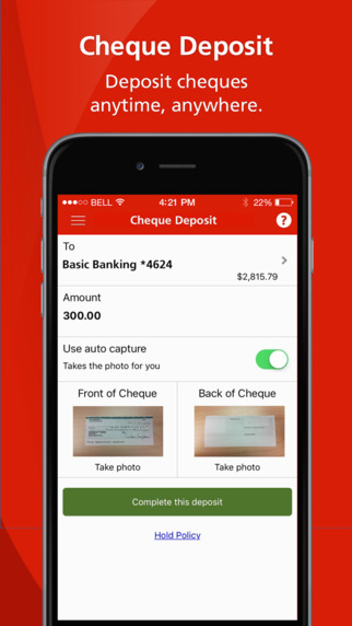 Scotiabank for iOS Updated with Mobile Cheque Deposits | iPhone in