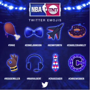NBA Turner emojis