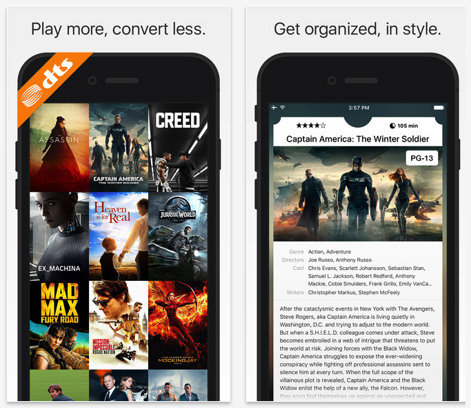 Infuse Video Library and Playback App for iOS Updated to