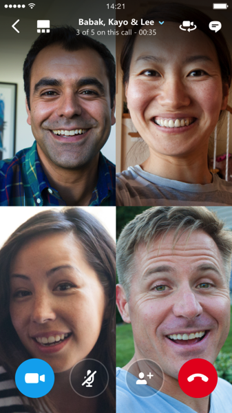 Skype Rolls Out Group Video Calling for iPhone and iPad