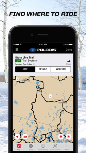 Manitoba Snowmobilers Get New Snow Trails by RiderX iOS App | iPhone ...