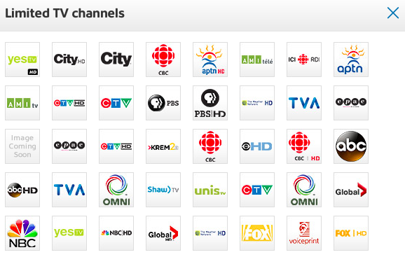 Shaw S 25 Quot Skinny Quot Tv Package Goes Live Ahead Of Crtc