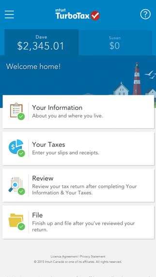 File Taxes from iPhone or iPad with TurboTax Free Canada for iOS