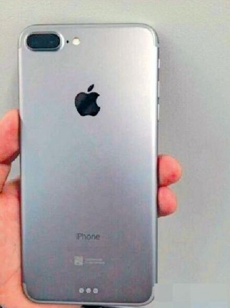 Alleged iphone 7 plus