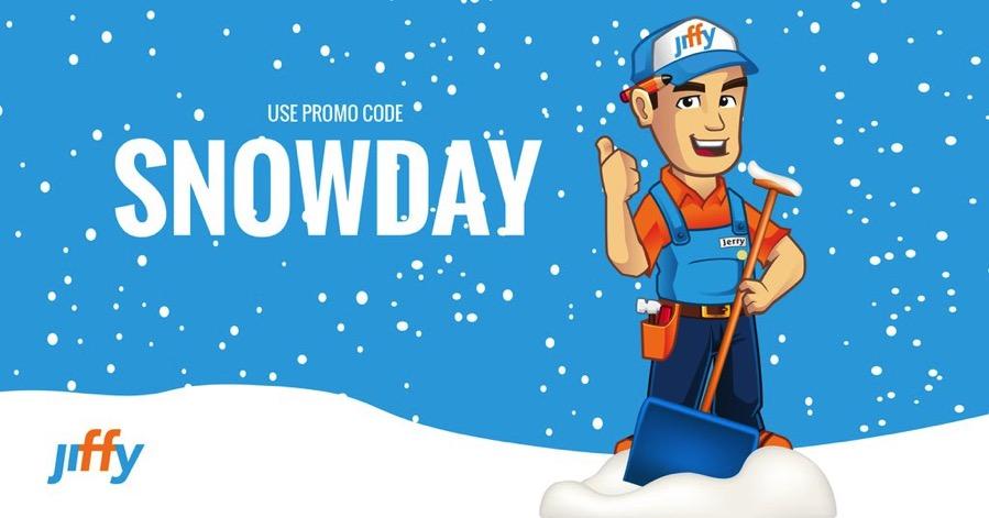 Jiffy snow removal