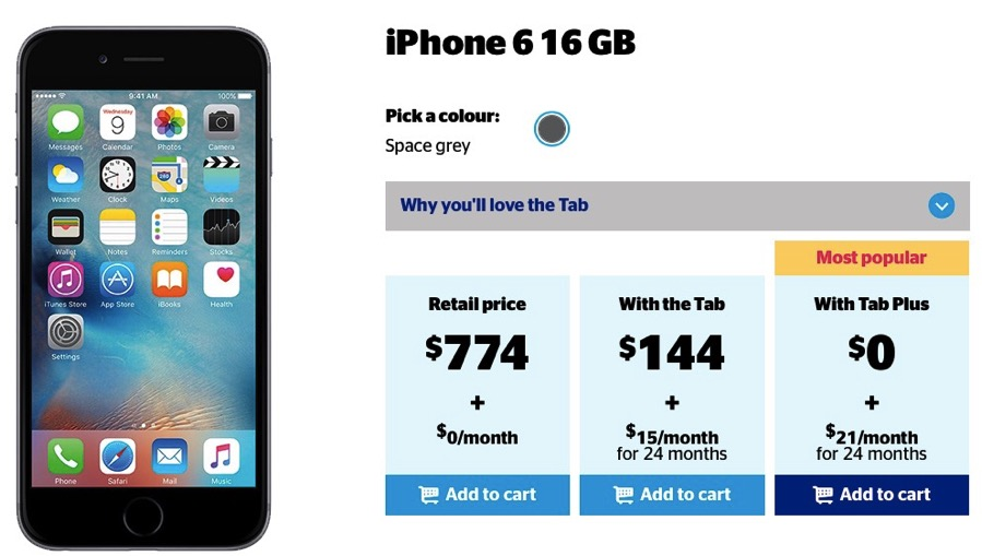 iphone 6 phone plans koodo 16gb iphone 6 for 0 with minimum 69 tab plus 6993