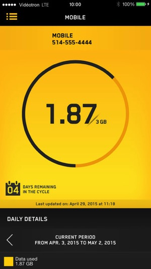 Videotron Launches User Centre IOS App To Track Data Usage And - Videotron online invoice
