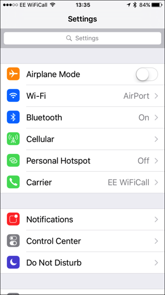 How To: Search in the iOS 9 Settings App | iPhone in Canada Blog