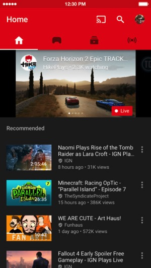 Youtube Gaming L Application Enfin Disponible En France: YouTube Gaming For IOS Launches In Canada