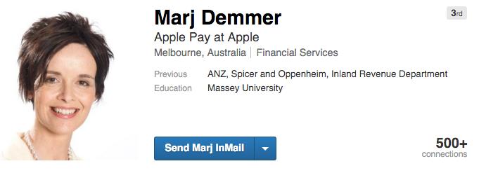 marj demmer apple pay