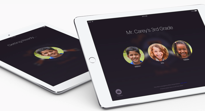 First Impressions with Apple Classroom on iPad as a Teaching Tool