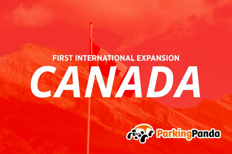Canada parking panda