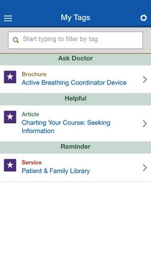 Cancer app 2
