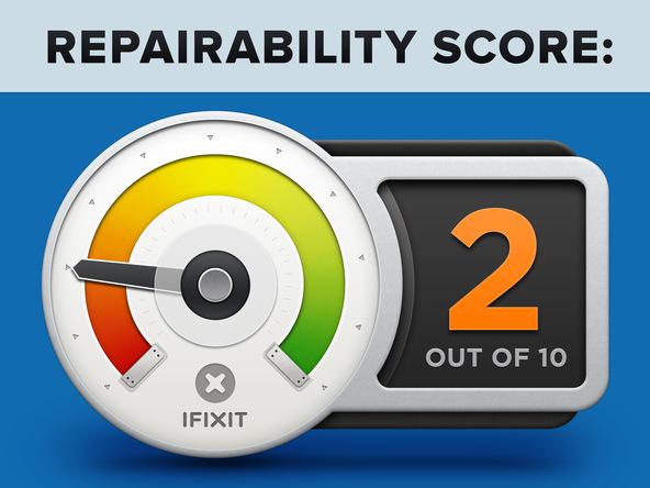 Ipad pro repairability score