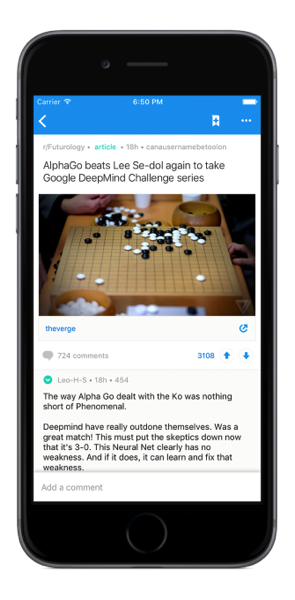 Official Reddit iPhone App Now Available for Download | iPhone in