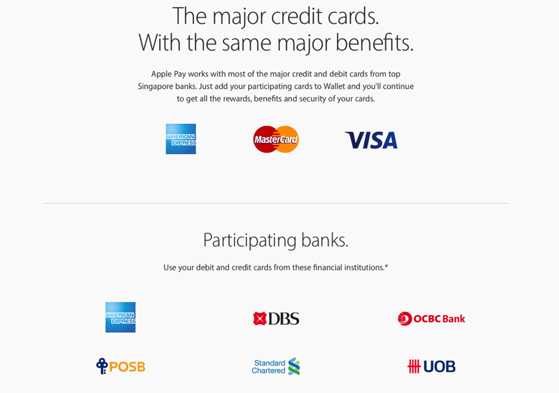 Apple pay singapore