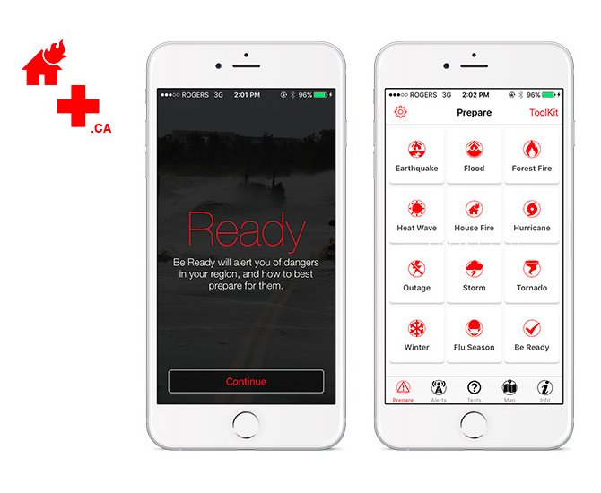 Be ready ios canadian red cross