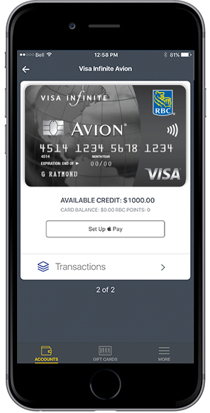 How to Setup RBC Debit/Credit Cards with Apple Pay [u