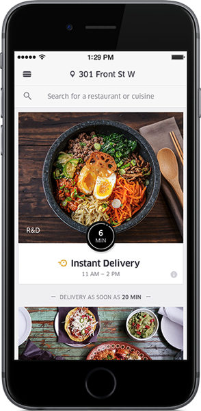 ubereats launches in edmonton free delivery for limited. Black Bedroom Furniture Sets. Home Design Ideas