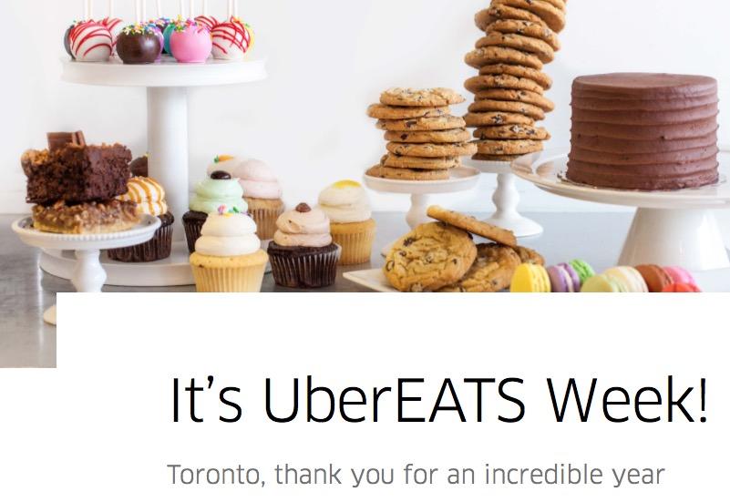 UberEATS Anniversary Week Begins: $1 Dinner Today, Free