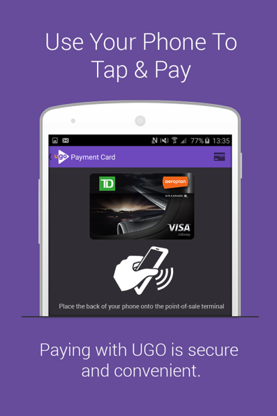 Ugo wallet android
