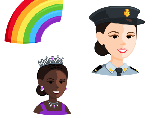 Also similar to googles latest emoji update facebook is introducing more women in empowering roles including emojis of a female police officer jpg