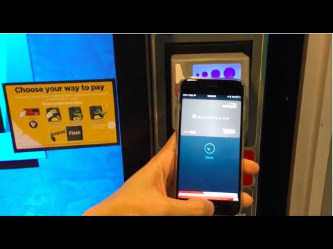 Apple pay vending machine