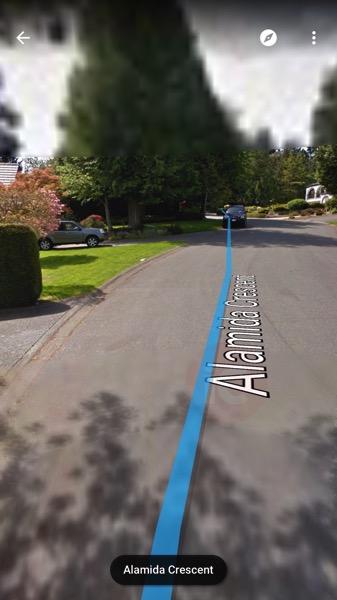 Google maps stream