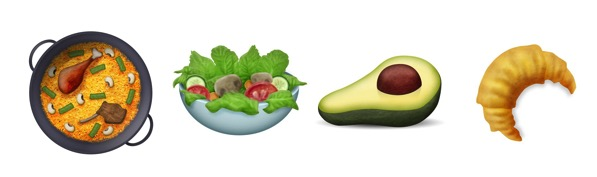 Unicode 9 food emojipedia