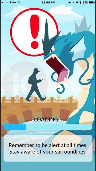 Pokemon go server error