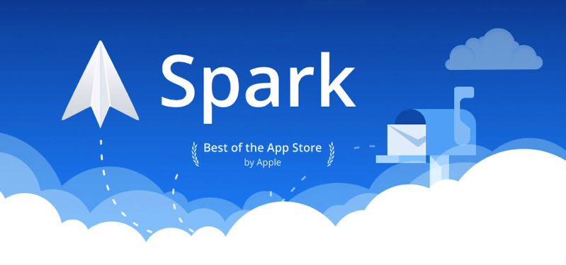 Spark email app