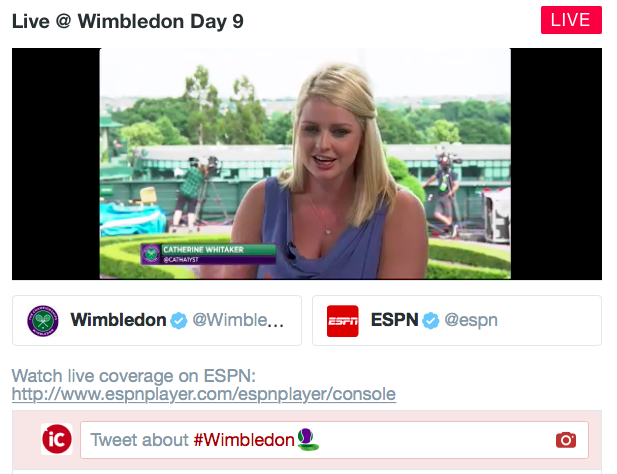 Wimbledon day 9 live