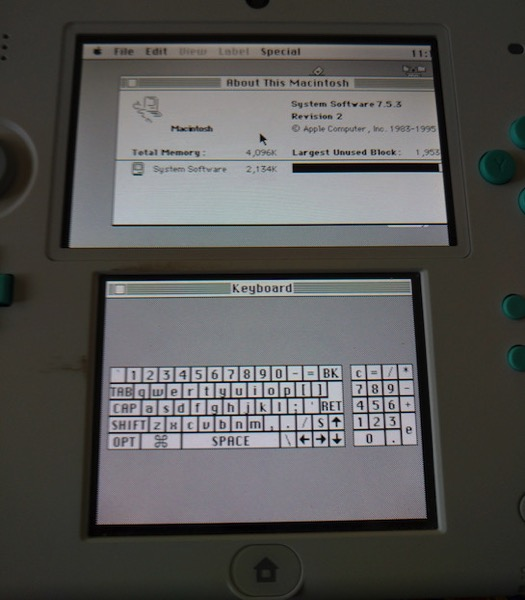 Macintosh Plus 3DS