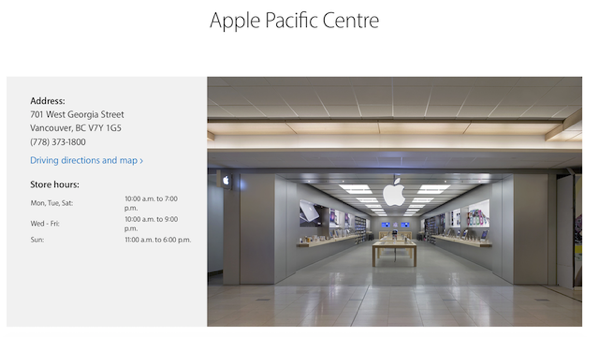 Apple pacific