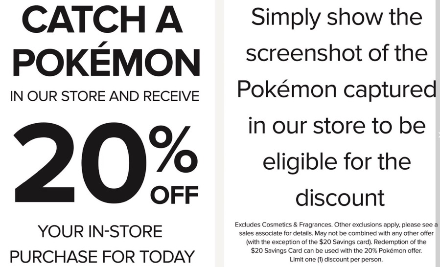 Pokemon go hudsons bay