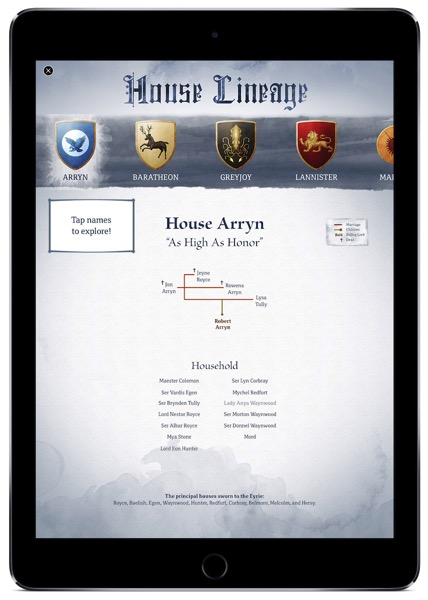 GOT House Lineage 1