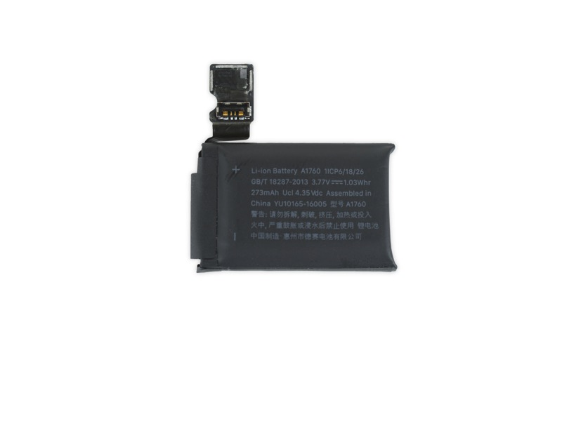 Apple watch 2 battery