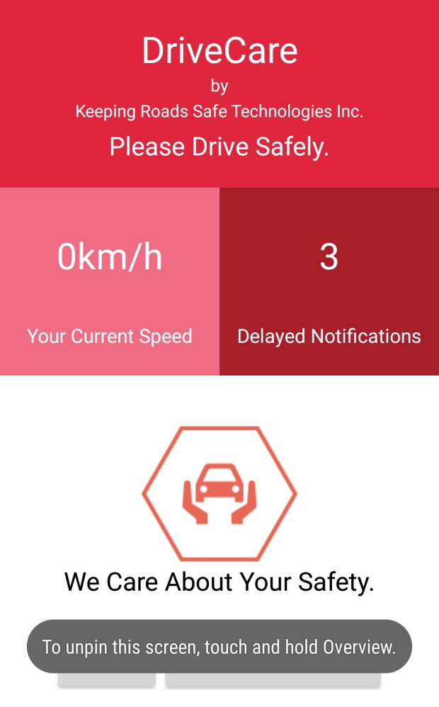 drivecare-cell-phone-app